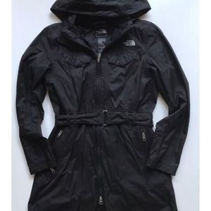 The Northface Black HyVent Coat